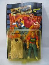 LAST ACTION HERO Undercover Jack Figure Arnold Schwarzenegger 1993 Mattel - $25.00