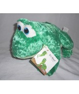 It's Mine! Frog Plush Stuffed Animal Kohl's Cares for Kids Green Furry - $13.74