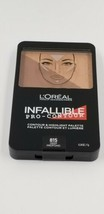 L'oreal Infallible Pro - Contour Color #815 Deep Profound Highlight Palette New - $10.17