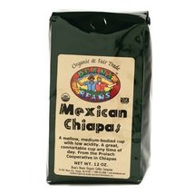 Organic Fair Trade Mexican Chiapas Whole Bean Coffee (12 ounce) - $15.99