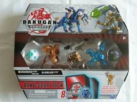 Bakugan Armored Alliance Dragonoid Ultra with Baku-Gear & Howlkor Pack, 4-Pack  - $29.62