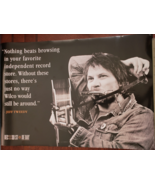 Jeff Tweedy 'Record Store Day April 19 2014' Soft Promo Poster 19 x 13, new - $14.95