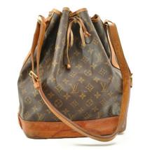 LOUIS VUITTON Monogram Noe Shoulder Bag M42224 LV Auth ar1476 - $280.00