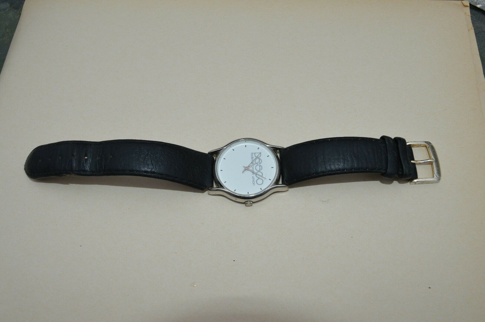 Vintage  SWEDA  ''DESCO'' Federal Credit Union'''  Nice watch, New Battery