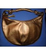 Ann Taylor Loft Small Hobo Handbag Purse Metall... - $16.00