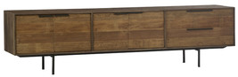 Distressed Solid Hardwood Large Console Plasma TV Stand,91''L X 24''H. - $1,480.05