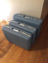 "Vintage Samsonite Hard Suitcase Denver, CO 24""x17x7.5"" (x2) and 24""x17x7... - $93.50"
