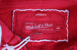 Mitchell & Ness Womens Distressed Vintage Detroit Hockey Red Wings Hoodie Large image 5