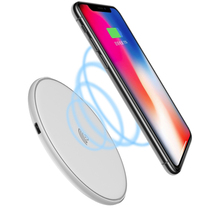 hamtod 10w max white round intelligent qi wireless charger support fast ... - $24.80