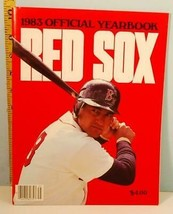 1983 Boston Red Sox Official Baseball Club Yearbook - $8.42