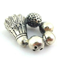 Authentic Trollbeads Champion Sterling Silver Bead Charm 11334, New - $26.59