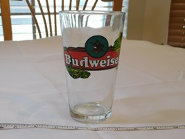 Budweiser Lizzards Pint glass Beer Mug glass very good condition Pre-owned - $15.89