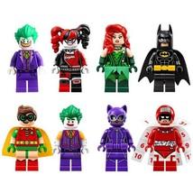 New 8pcs of Building Blocks Brinquedos Figures Toys Batman Movie Super H... - $11.99