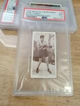 1938 CHURCHMAN GENE TUNNEY BOXING 35 PERSONALITIES  PSA  7.5NM+  - $98.01