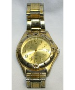 Optimus Gold Tone Wristwatch with Metal Wrist Band  - $29.69