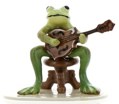 Hagen-Renaker Specialties Froggie Mountain Breakdown Bluegrass Frog Mandolin