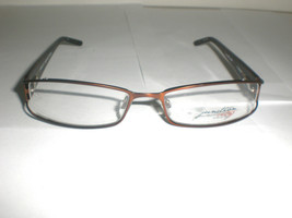 Junction City Women's Designer Eyeglass Frames Inglewood Brown Size 54-1... - $20.99