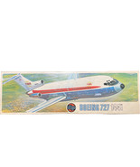 AIRFIX 1/144 Model Aircraft Kit BOEING 727 Unmade in Type 4 Box 1970s W/... - $9.89