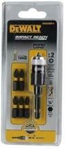 DEWALT DWA2509IR-6 6 PC Impact Ready Rapid Load Screw Bit Tip Holder - $7.92