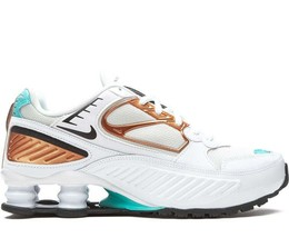 "NIKE SHOX ENIGMA ""SPRUCE AURA"" TRAINERS SNEAKERS WOMEN SHOES BQ9001-100 - $130.48"