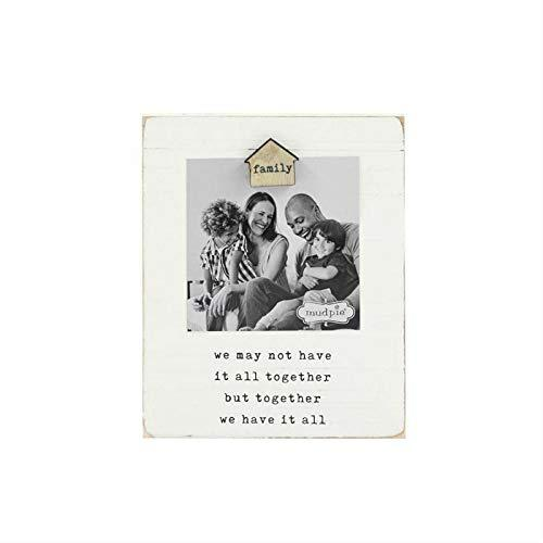 Mud Pie Family We Have It All Magnetic Wood Photo Frame - $31.68