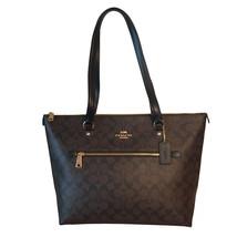 Coach Gallery Tote Shoulder Bag - Brown/Black - $149.00