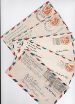 WORLD WAR 2 MILITARY MAIL LOT OF 5 COVERS - $5.88
