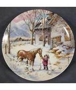 Trusted Companion Collector Plate Nature's Child Mimi Jobe Knowles 84-K4... - $34.95