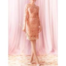 Women Round Neck Beautiful Lace Wedding Dress - $169.99