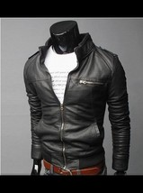 The Best Quality Uk Size XS-XL Zipper Long Sleeve Faux Leather Coats 201... - $68.14