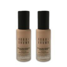 Bobbi Brown Skin Long-Wear Weightless Foundation SPF 15- Porcelain 0- LOT OF 2 - $102.18