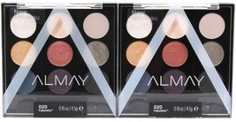 2 Ct Almay 020 Fabulista Palette Pops Eyeshadow Mix Match Play Use Wet Or Dry - $21.99
