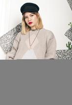 Knit jumper - 90s vintage sweater - $40.30