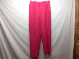 Women's Pink Tower Hill Collection Elastic Pants Sz 12 - $24.74
