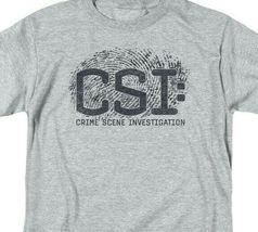 CSI t-shirt crime scene fingerprint logo TV drama series graphic series CBS1215 image 3