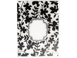 Floral Embossing Folder with Window, Great for Card Making! image 1