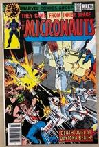 MICRONAUTS #3 (1979) Marvel Comics FINE- - $9.89