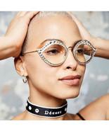 Luxury Cat Eye Sunglasses Metal Frame Rhinestone Decoration Women Fashio... - $13.41+