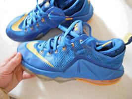 Nike Earned 23 Lebron James BLUE & Yellow MEN'S athletic sneakers Sz.11 ... - $54.45