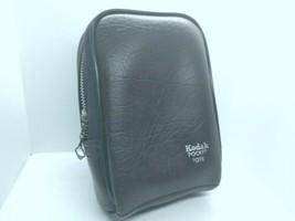 "Vintage Kodak Camera Tote Brown Zip Protective Camera Bag 4""x2 1/2""x5 1/2"" - $9.90"