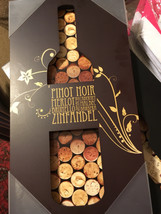 Wine themed wall decor sign  - $30.00