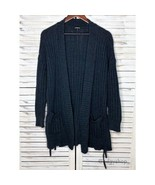 Express | Lace-Up Side Cover-Up Cardigan Sweater - $25.00