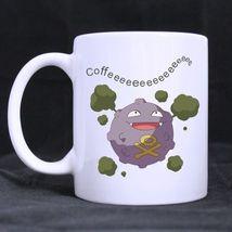 Pair of Koffing Coffeeeee Custom Personalized Coffee Tea White Mug - $13.99