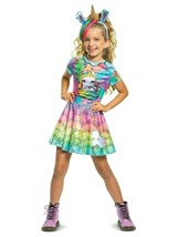 NEW Poopsie Slime Surprise Rainbow Brightstar Costume Dress Girls S 4-6 M 7-8