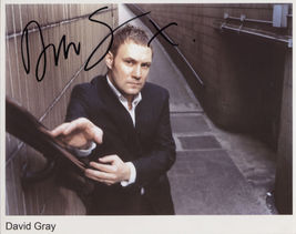 David Gray (Singer) SIGNED Photo + COA Lifetime Guarantee - $59.99