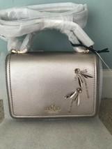 Kate Spade Patterson Drive DRAGONFLY Metallic Mini Crossbody Satchel Bag... - $150.63