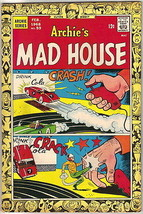 Archie's Madhouse Comic Book #59 Sabrina Story, Archie 1968 FINE - $26.11