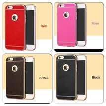 Soft Silicone Pink, Black, Coffee, Red iPhone Case for iPhone 7, 7 Plus - $7.00