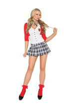 2 Piece Schoolgirl Costume Regular & Plus Sizes - $39.98+
