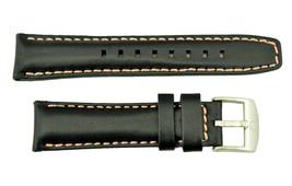 Luminox Modern Mariner Ladies 7261 20mm Black Watch Band Strap Pink Stit... - $57.00
